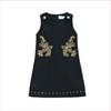 Young Versace Girls Black Dress