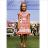 Miss Blumarine Girls Pink-Orange Dress