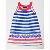 Miss Blumarine Girls Striped Jersey Dress