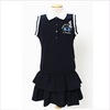 La Martina Girls Navy Blue Branded Polo Dress