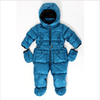 ADD Daunen Schneeoverall in blau