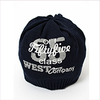 Catya Boys Navy Blue Knitted Hat with Print
