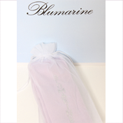 Miss Blumarine exklusive Strumpfhose Flieder/Lila