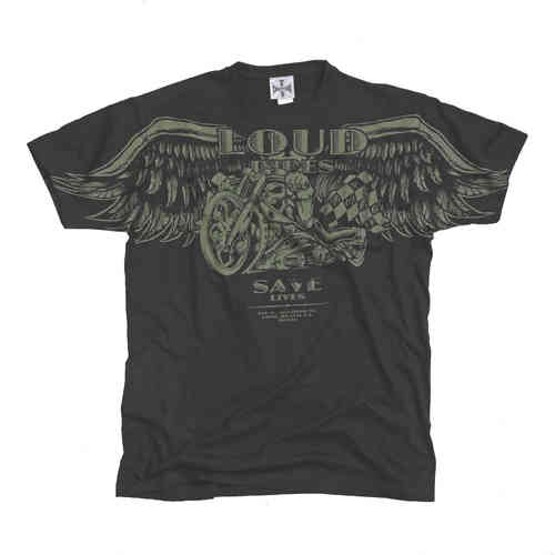 """LOUD PIPES"" T-Shirt von West Coast Choppers"