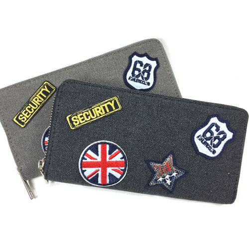 "ZIP PURSE ""PATCHES"""