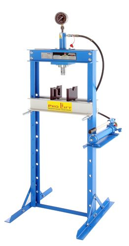 12t shop press, manually, height 1650 mm,  00013