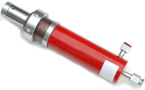 20t replacement cylinder for workshop presses, red, 00015