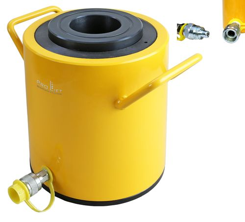 100t hollow cylinder, hollow piston cylinder, 79mm diameter, stroke 75mm, 00087