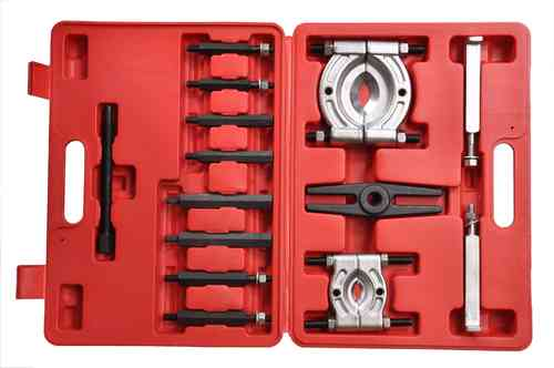 Bearing splitter set, puller, 2 sizes, 32mm - 56mm + 56mm - 78mm, 00135