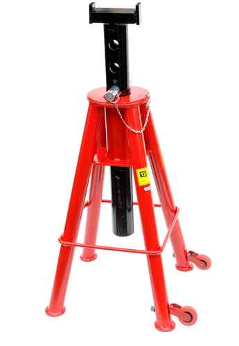 12t jack stand, support jack, heavy duty design, 725mm - 1200mm, 00156