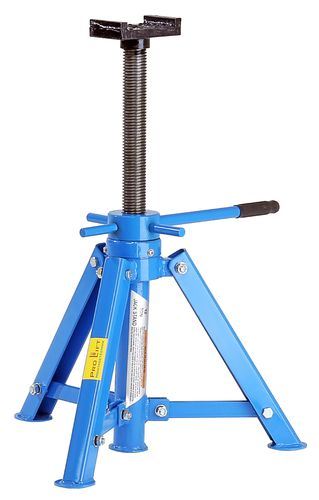 12t foldable jack stand, screw jack, height 445mm - 720mm, 00158