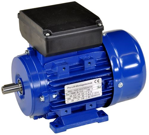 0.37kW electric motor 230V, 2780rpm, B3, 00385