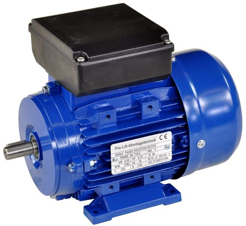 0.55 kW electric motor 230 V, 2790rpm, B3, 00386