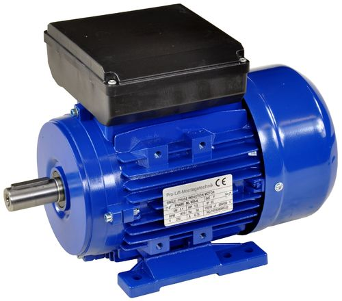 1.1kW electric motor 230V, 1410rpm, B3, 00387