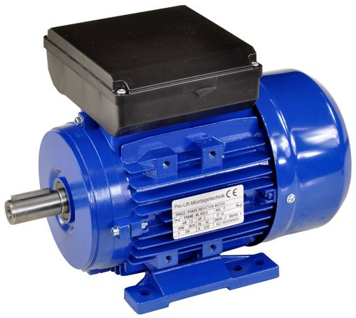 1.5kW electric motor 230V, 2810rpm, B3, 00400