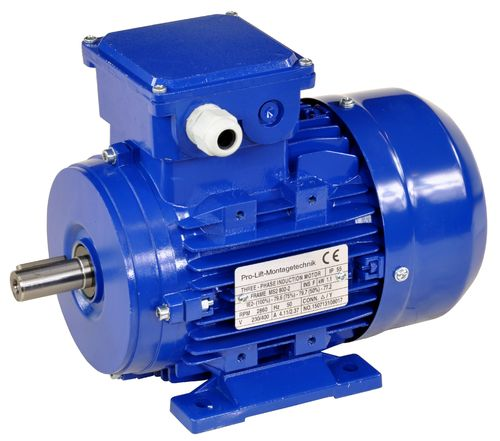 1.1kW electric motor, 380V, 2860rpm, B3, 00402