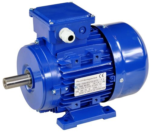 1.5kW electric motor 380V, 2860rpm, B3, 00404