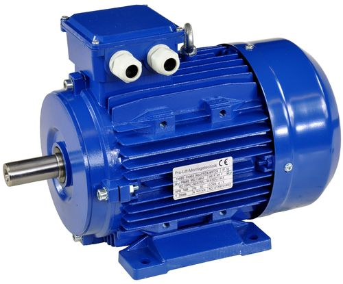 4kW electric motor, 230/400V, 1430rpm, B3, 00410
