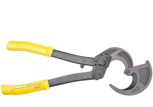Cable cutter, max. 500mm², max. diameter 50mm, yellow/black, CC500, 00339
