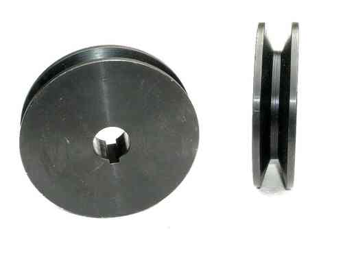 SPA100x24 one groove, V-belt pulley, 12.5mm belt width, 00456
