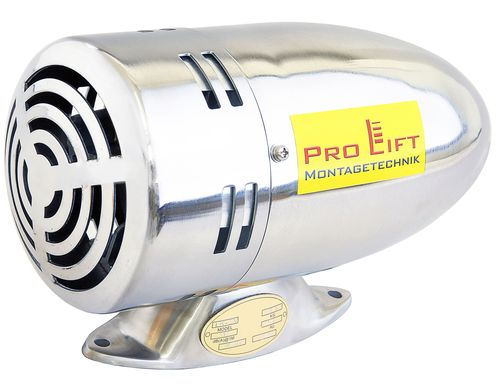 12V electric siren, police siren - Ami 116dB, stainless steel, SVL, 00699