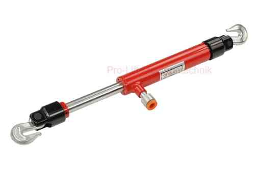 2t pull back ram, hydraulic cylinder with chain hook T, 00901