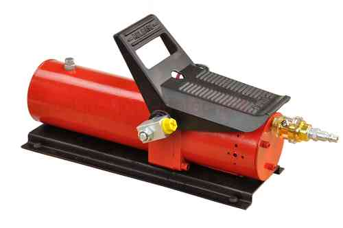 Hydraulic pump 690bar, pneumatically operated by pedal, 700cm³, T, red, 00910