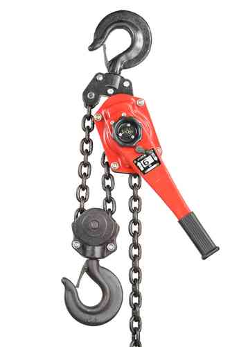 6000kg lever block, chain hoist, ratchet, red, T, 00937