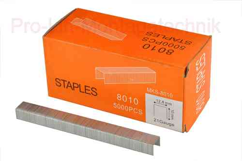 5000 replacement staples for compressed air stapler, 12.8mm staple width, 00997