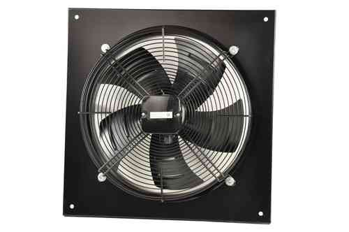Axial fan, 400 mm diameter, design S, 380V, blowing, 01062