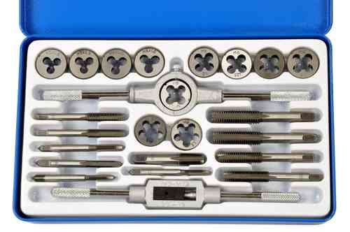 M6 Pro-Lift-Montagetechnik Gewindeschneider Set blaue Blechbox J M24 00973 metrisch 45 teilig