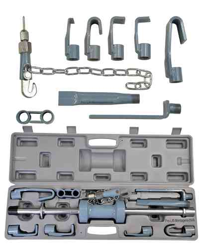 Slide hammer set, puller, body frame repair kit, grey box, SHS01, 01343