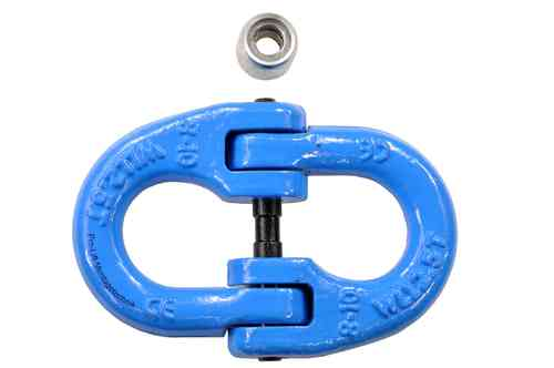 2.5t connection shackle, clevis, chain link, J, 01380