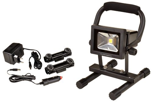 Chargeable LED flood light, 10W, magnetic, LB10BA, 01575