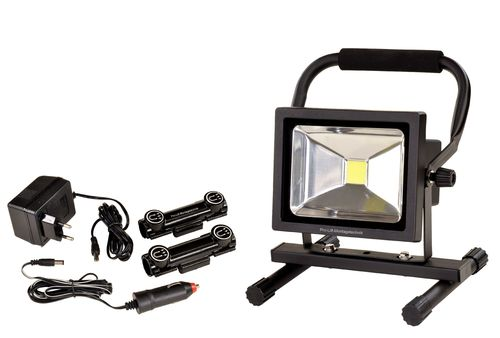 Chargeable LED flood light, 20W, magnetic, LB20BA, 01576