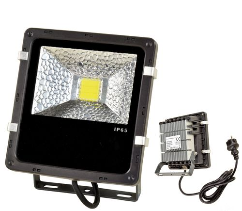 230V LED flood light, 20W, continuous white light,  LB18W, 01595