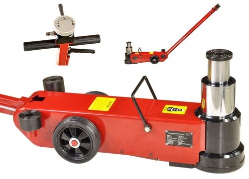 40t/20t floor jack, garage jack with pneumatic drive, T40-2A, 01696
