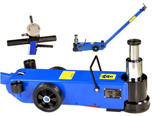 25t/10t floor jack, garage jack with pneumatic drive, T25-2A, 01695