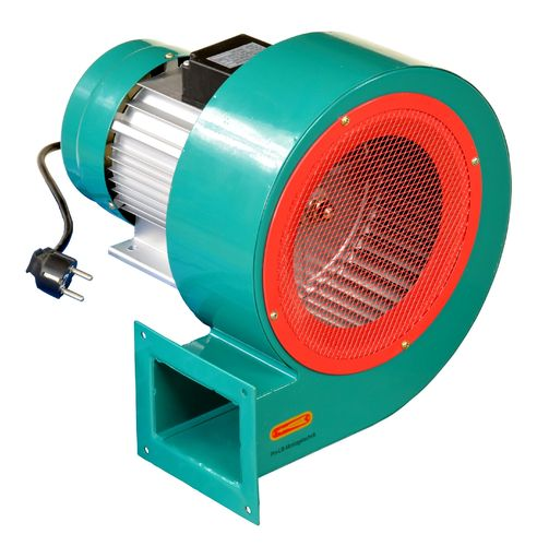 0.75kW low noise radial fan 1200m³/h, 230V, DF-6-0.75kW, 01717