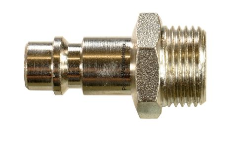 "1 piece 1/4"" quick coupling counterpart: male and 3/8"" external thread, 11321S, 01587"
