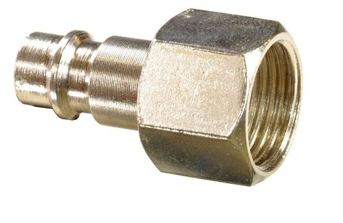"1 piece 1/4"" quick coupling counterpart: male and 3/8"" internal thread, 113A21S, 01601"