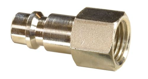 "1 piece 1/4"" quick coupling counterpart: male and 1/4"" internal thread, 113A11S, 01602"