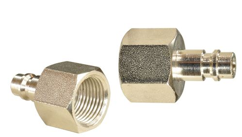"1 piece 1/4"" quick coupling counterpart: male and 1/2"" internal thread, 113A31S, 01611"