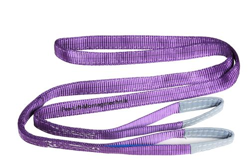 1t webbing sling, hoisting belt with 2 eyes, length 3m, 2 layers, WS13J, 02111