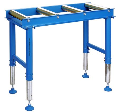 Roller stand 1000mm, 4 rolls, height adjustable, RB60R4J, 02157