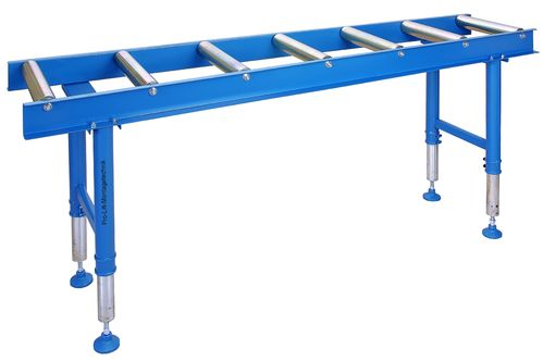 Roller stand 2000mm, 7 rolls, height adjustable, RB60R7J, 02158