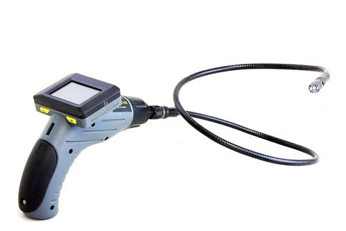 Endoscope with LCD colour display, 12mm diameter x 1000mm, EC360AJ, 02233