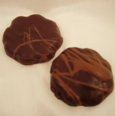 Kirschbissen mit Schokolade