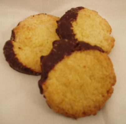Kokosgebäck mit Schokolade
