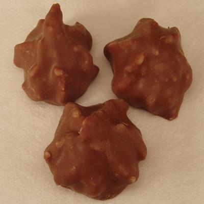 Kokosflocken mit Schokolade